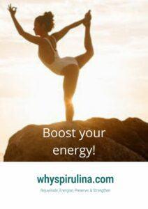 Natural Energy Boosting Food – Spirulina