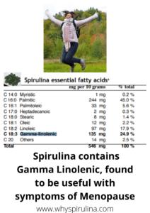 Alternative Treatment For Menopause – Spirulina?