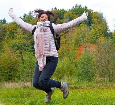 Lady Jumping with Energy - Alternative Treatment For Menopause – Spirulina?