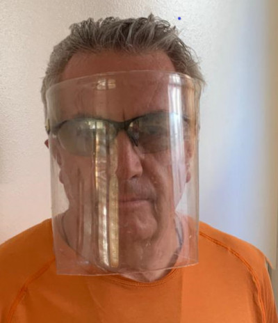 Reusable Protective Face Mask - Home Made