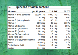 Spirulina and Children - [Its A Powerhouse Of Nutrition]