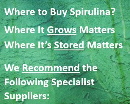 Where to Buy Spirulina tablets
